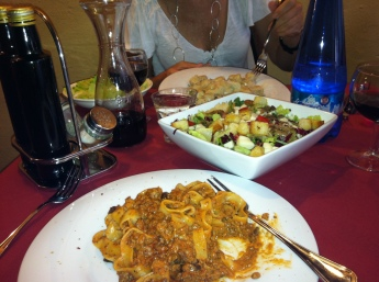 Tagliatelle at La Briociola