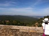 Overlooking Tuscany