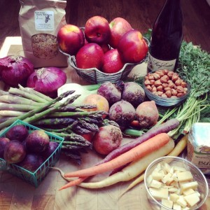 A Bounty from the Farmers Market